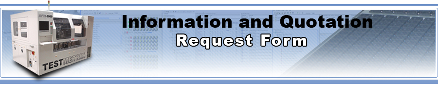Testmetrix Information and Quotation Request Form