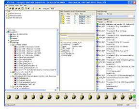 Actual VTE-2300 Test SW Library Screen Capture